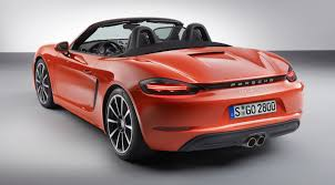 porsche boxster spyder 2016 porsche 718 boxster revealed turbo flat four engines