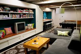 How To Finish A Basement Ceiling by How To Partially Finish Your Basement On A Budget Coldwell