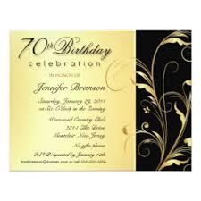 70th birthday invitations u0026 announcements zazzle com au