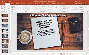 coffee shop background design animated modern rustic coffee shop powerpoint template
