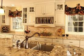 Traditional French Kitchens - endearing french kitchen curtains and pictures french country