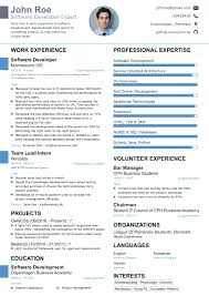 Resume Templates For First Job by 2017 Professional Résumé Templates For Your Dream Job