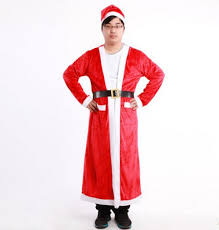 santa costumes aliexpress buy santa claus robe christmas santa claus