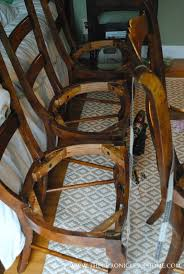 How To Upholster A Dining Room Chair How To Recover Dining Room Chairs Best Decoration Upholster Dining