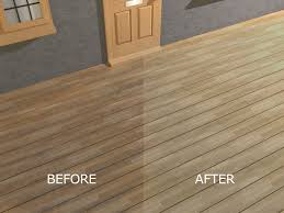 Clear Coat For Wood Floors How To Seal And Stain Pressure Treated Wood Decking 4 Steps