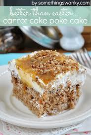 better than easter u2026 carrot cake poke cake recipe carrot poke