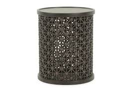ellen degeneres home decor thomasville ellen degeneres nicada dark oak tribal drink table