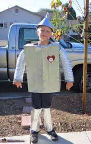 Tin Man Costume Diy Tin Man Costume From Wizard Of Oz Great Tutorial Halloween