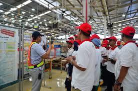 toyota manufacturing kompasiana visit kompasianer listening to every informations