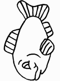 cute cat fish coloring kids animal coloring pages
