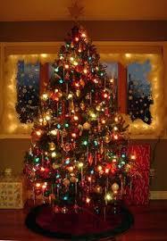 vintage christmas tree lights fashionable ideas old time christmas lights tree pottery chritsmas decor