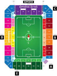Mls Teams Map Stadium Maps Orlando City Soccer Club