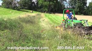 double action sickle bar mower by tractor tools direct youtube