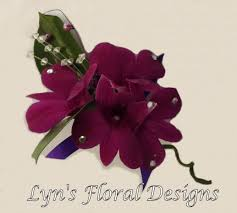 Orchid Corsage Purple Orchid Corsage Lyn U0027s Floral Designs Florist In Maidstone