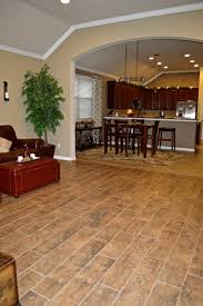 Laminate Flooring Joining Strips Porcelain Tile That Looks Like Wood Planks Looks Amazing Easy To