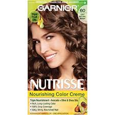 Light Brown Color Amazon Com Garnier Nutrisse Nourishing Hair Color Creme 60 Light