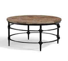 pottery barn griffin round coffee table coffee accent tables pottery barn ca