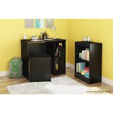Bookcase To Bench South Shore Freeport Desk Storage Bench And Bookcase Set In Pure