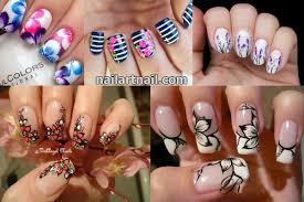 19 best and easy flower nail art designs latest nail art trends 2017