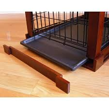merry products end table pet crate with cage cover hayneedle