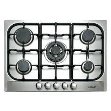 gaz cuisine gaz de cuisine plaque de cuisson gaz 5 foyers inox cata apelson