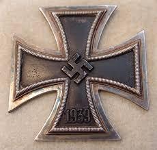 cased ww2 german iron cross 1st class jb antiques