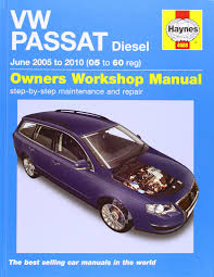 vw passat diesel service and repair manual 2005 to 2010 haynes