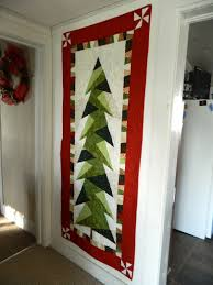 tall trim the tree wall hanging u2013 finished