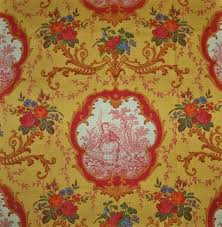 French Country Wallpaper by Decorating Beautiful Drapery And Upholstery Toile Fabric Idea