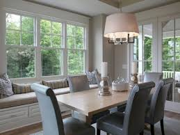 Window Treatments For Dining Rooms Window Seat In Dining Room Alliancemv Com