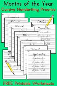 free cursive handwriting worksheets cursive handwriting practice