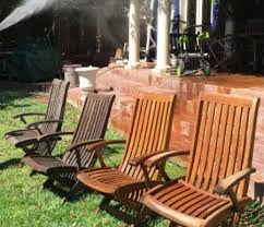 Patio Table Wood How To Clean Your Outdoor Patio Furniture With A Pressure Washer
