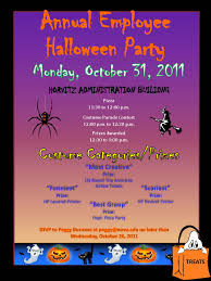 office party flyer it u0027s time for the annual employee halloween party oct 31 nsu