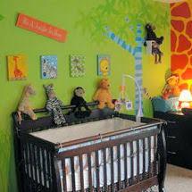 jungle baby nursery decor