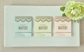 matchbook wedding favors matchbook save the date save the date design