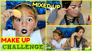 Challenge Up Nose Mixed Up Make Up Challenge Alisson Emily