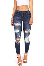Light Wash Ripped Skinny Jeans Best 20 Ripped Jeans Ideas On Pinterest Riped Jeans Distressed