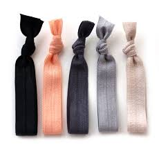 hair ties the silk hair tie package 5 elastic solid color hair ties