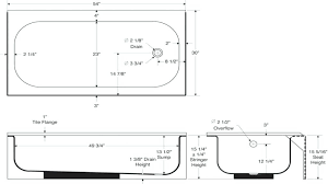 Bathroom Sink Sizes Standard Bathtubs Standard Tub Valve Height Wonderful Standard Bathtub