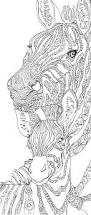 zebra clip art coloring pages printable coloring book hand