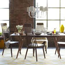 Modern Dining Room Table With Bench Mid Century Modern Dining Room Tables Onyoustore Com