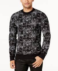 skull sweater guess s skull pin sweater sweaters macy s