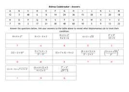 bidmas bodmas codebreaker by alutwyche teaching resources tes