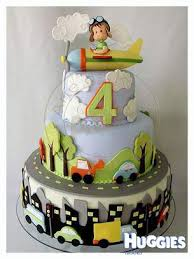 4 year old birthday tranport huggies birthday cake gallery huggies