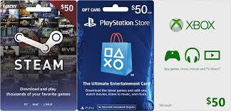 best gift cards 50 steam psn gift cards going for 40 at best buy via ebay