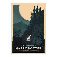 english artist reimagines harry potter book covers minimalistic