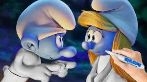 smurfs lost village movie smurfette hefty smurf coloring