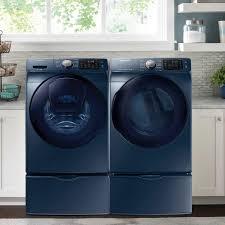 samsung 2 piece blue sapphire laundry suite with 5 2 cu ft front