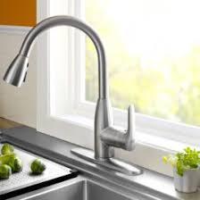 stainless steel kitchen faucet danze dss prince pull kitchen faucet stainless steel