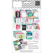 pocket pages me my big ideas watercolor pocket pages themed cards tpc 32